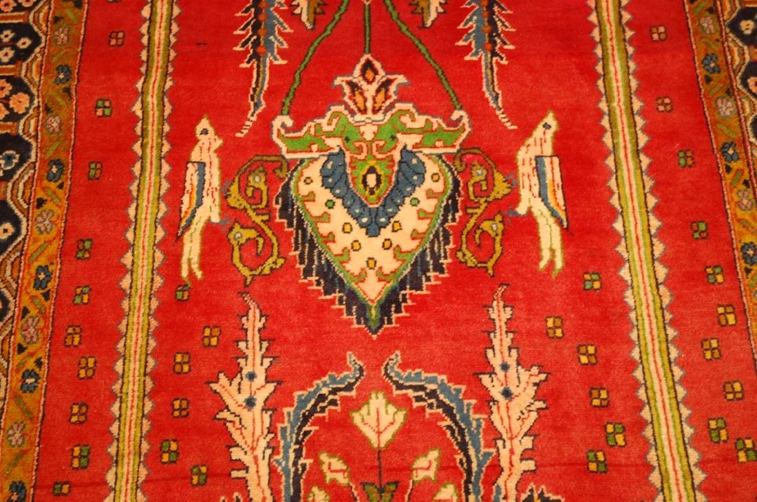 Master Piece Persian Sarouk Rug 3.5x6 - 8