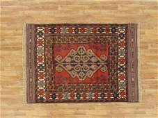 Semi-Antique Afghan Baluch Rug 4.4x6.1