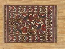 Semi-Antique Afghan Baluch Rug 4.4x6.2