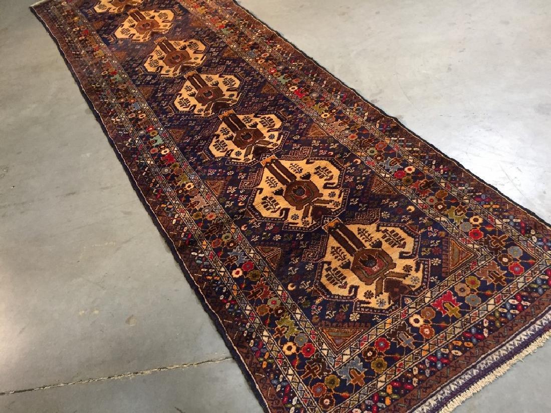 Tribal Persian Runner Rug 3x9.9 - 2