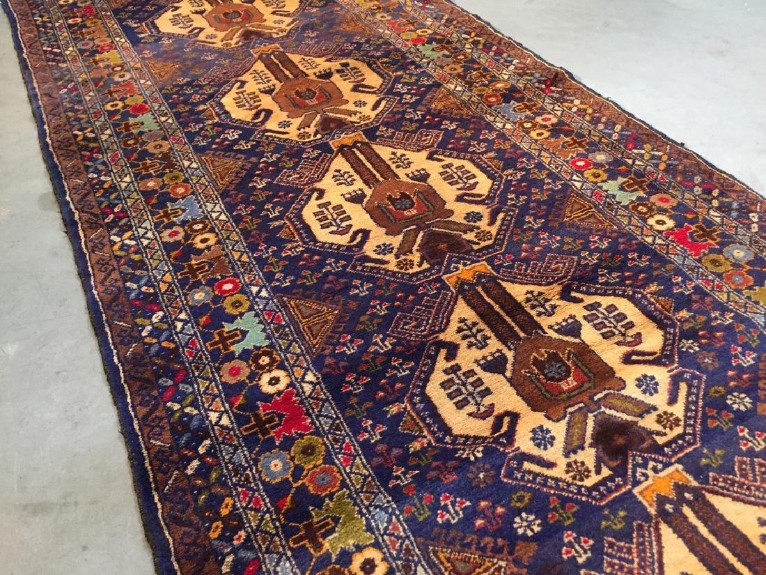 Tribal Persian Runner Rug 3x9.9 - 3