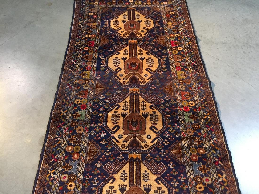 Tribal Persian Runner Rug 3x9.9 - 4