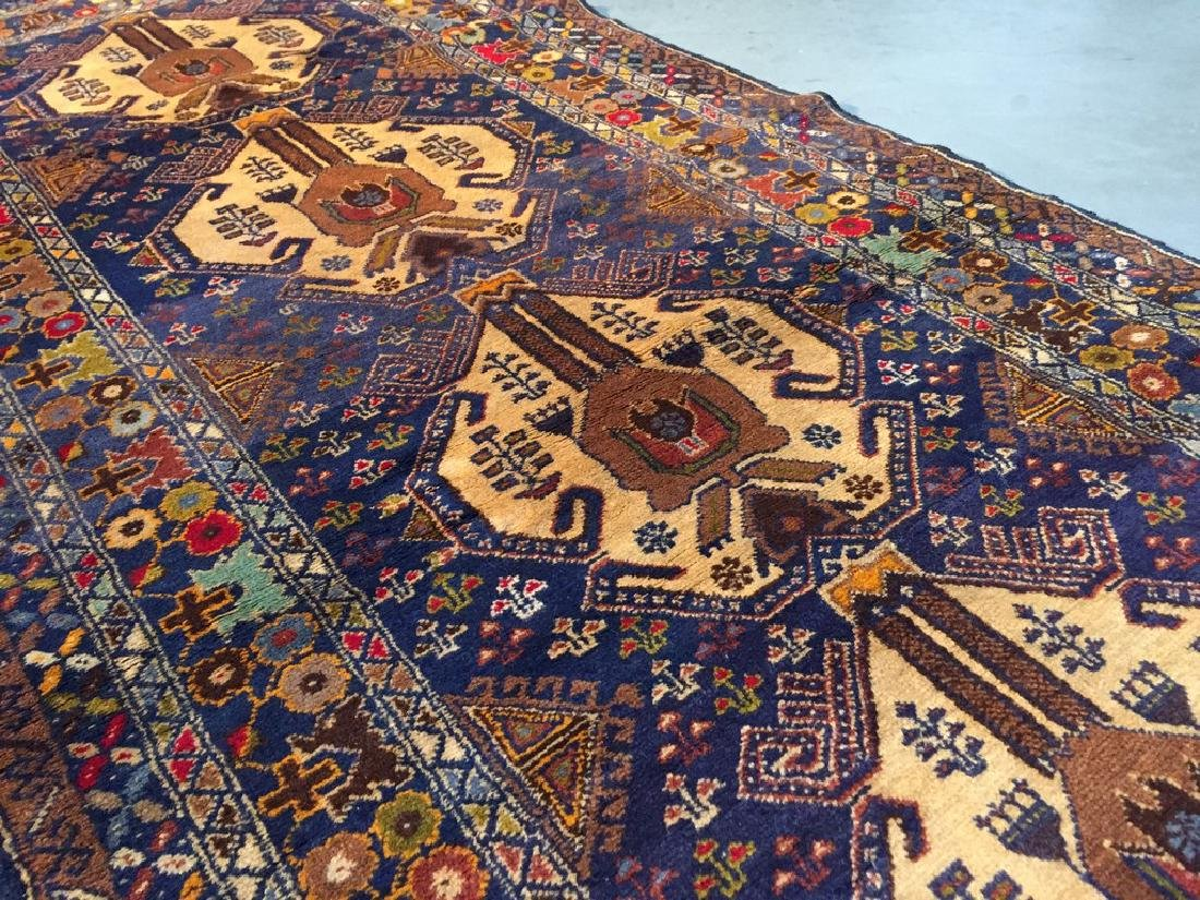 Tribal Persian Runner Rug 3x9.9 - 6