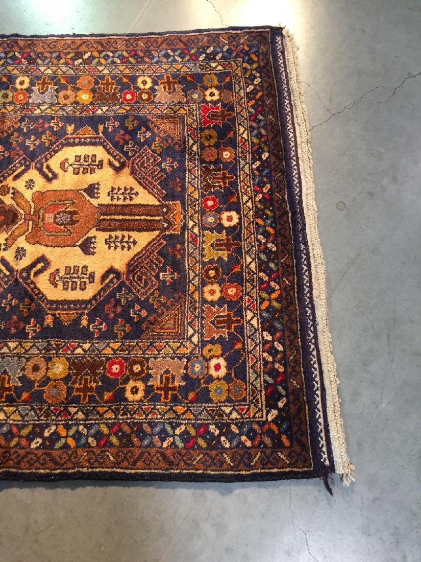 Tribal Persian Runner Rug 3x9.9 - 7