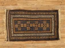 Semi-Antique Afghan Baluch Rug 1.9x2.11