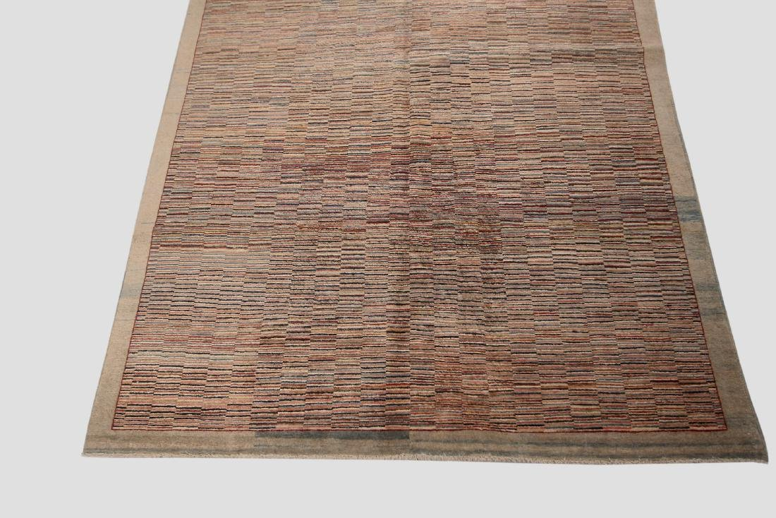 Vintage Persian Gabbeh Rug Hand knotted 6.1x9.8 - 2