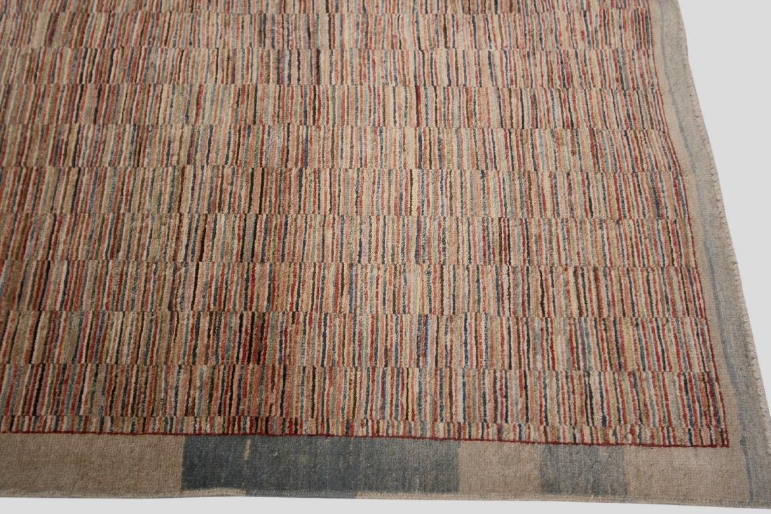 Vintage Persian Gabbeh Rug Hand knotted 6.1x9.8 - 3