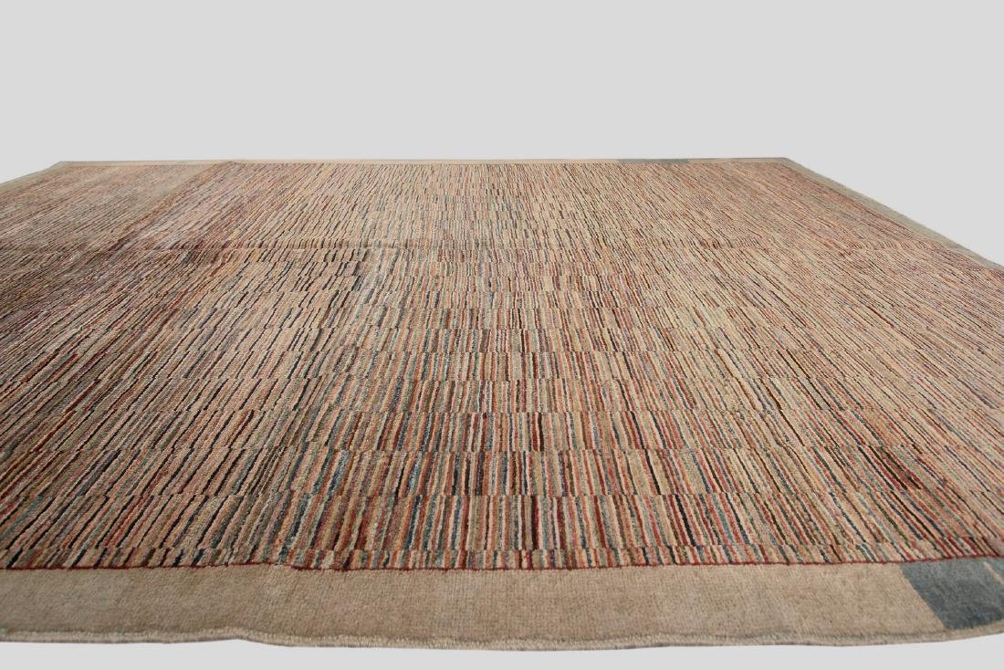 Vintage Persian Gabbeh Rug Hand knotted 6.1x9.8 - 5