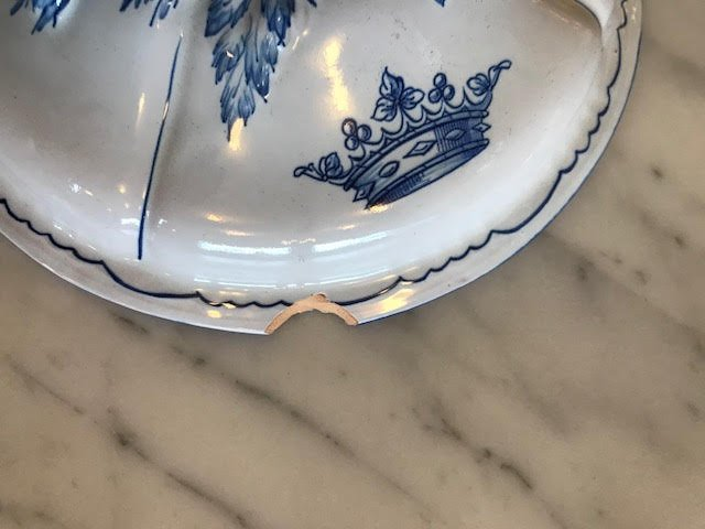49 pieces Emile Galle Dinnerware Circa 1870 - 9