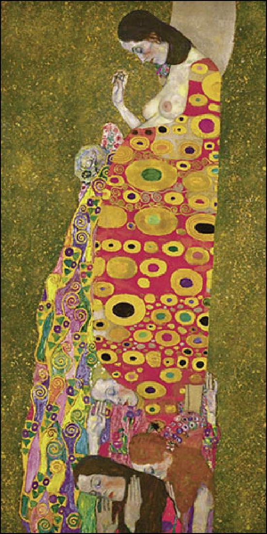 After Gustav Klimt: Hope statue - 5