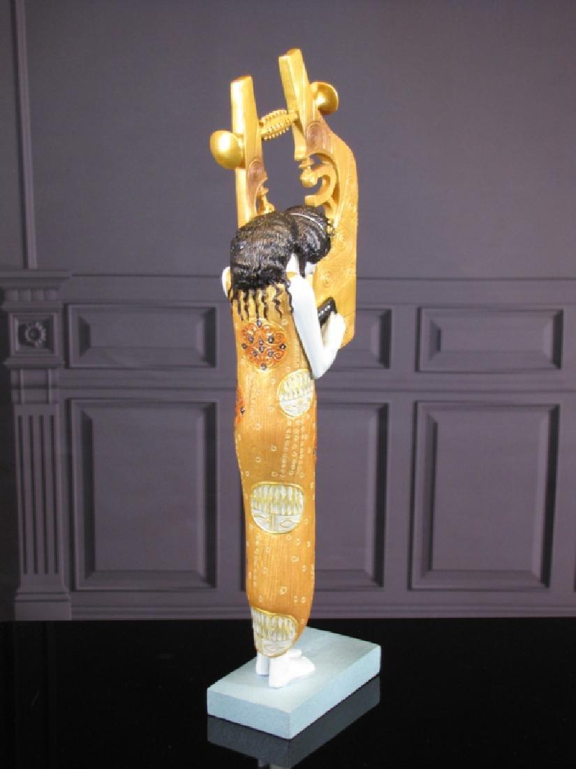 After Gustav Klimt: Poetry statue - 4