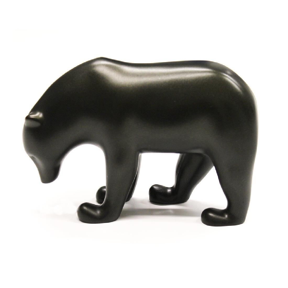 After François Pompon: Polar bear Ours Brun statue