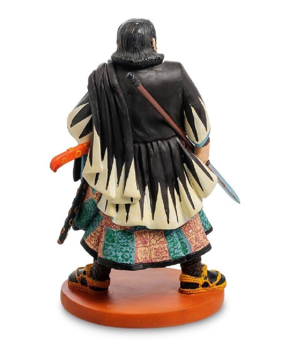 Art Japonais Chiba Sabrohei Warrior Statue - 2