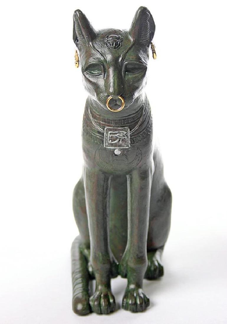 Art Egyptien The Gayer-Anderson Cat statue - 4