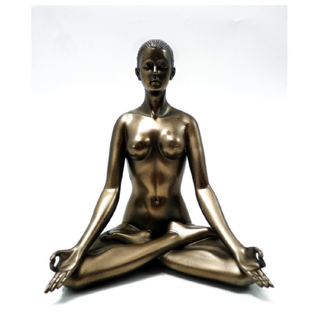 Body Talk Yoga - Padmasana Statue