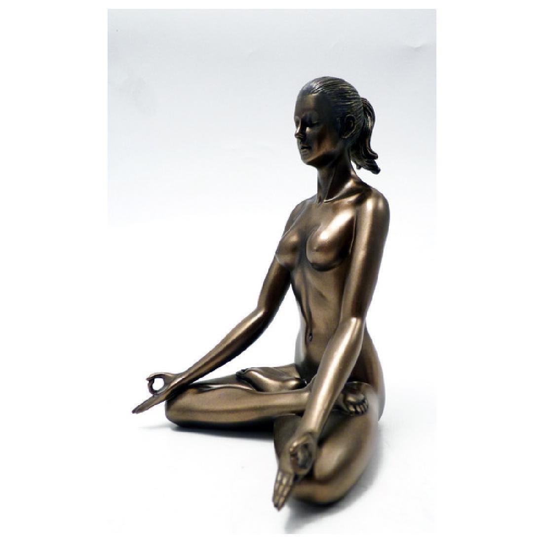 Body Talk Yoga - Padmasana Statue - 3