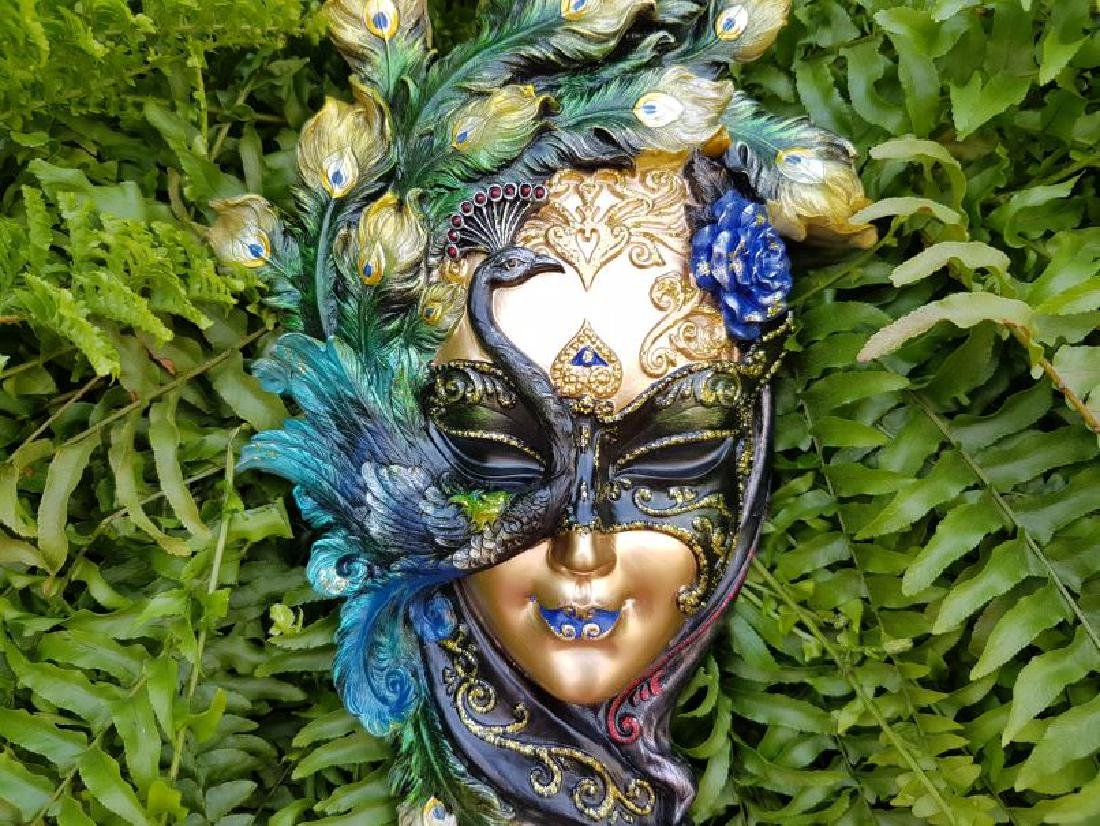 Venice Deco Mask Lady Elena - 2