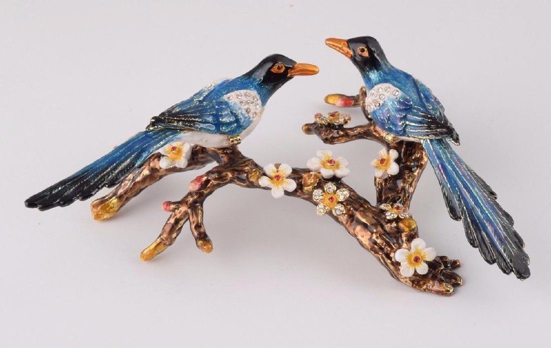 After Fabergé: Trinketbox Lovebirds