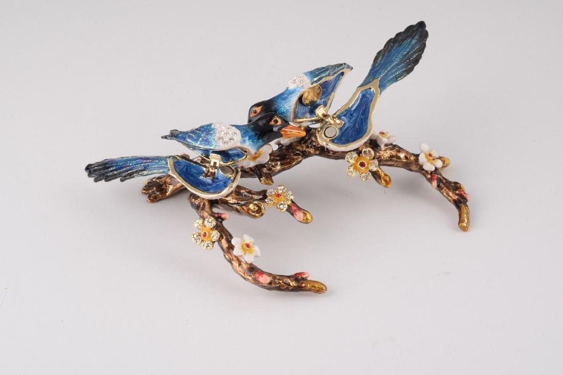 After Fabergé: Trinketbox Lovebirds - 2
