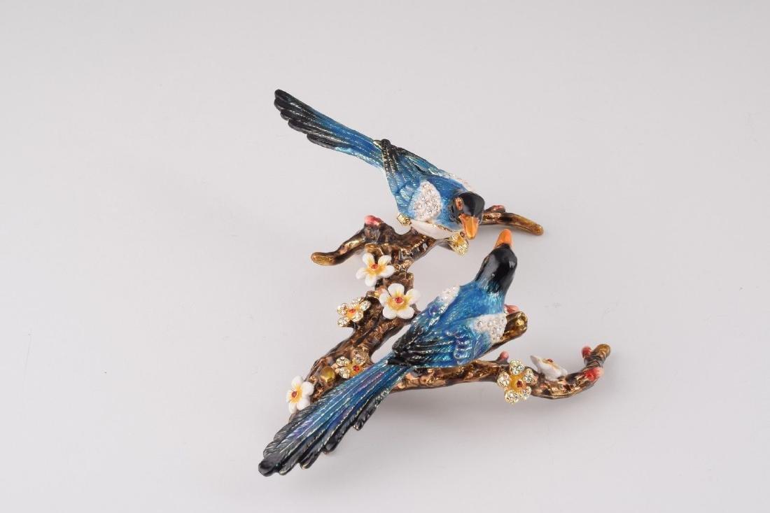 After Fabergé: Trinketbox Lovebirds - 3