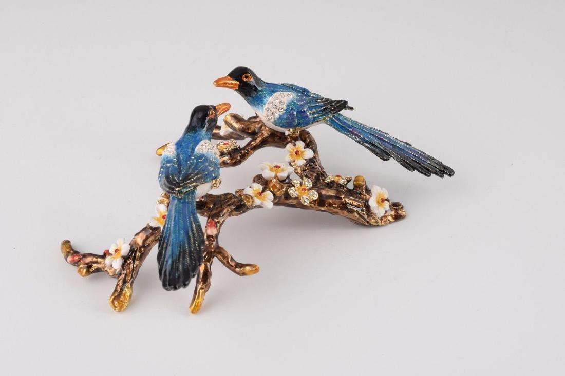 After Fabergé: Trinketbox Lovebirds - 4