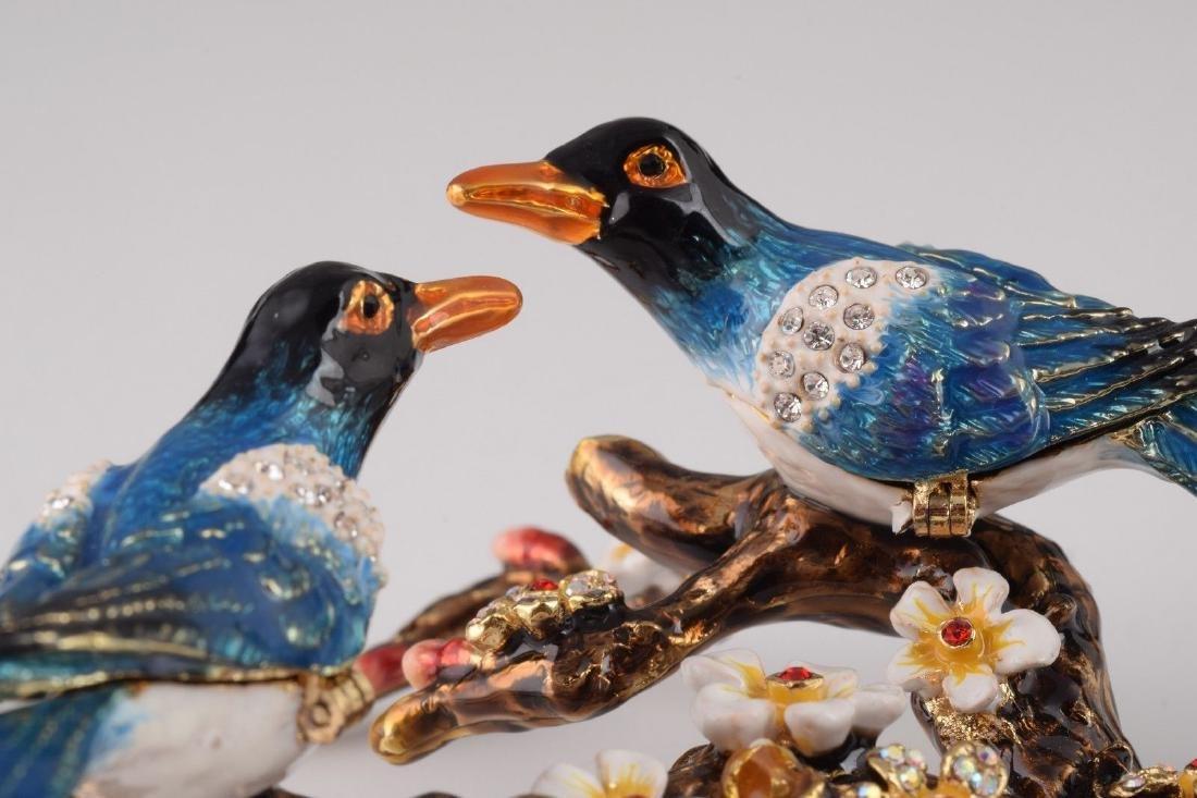 After Fabergé: Trinketbox Lovebirds - 5