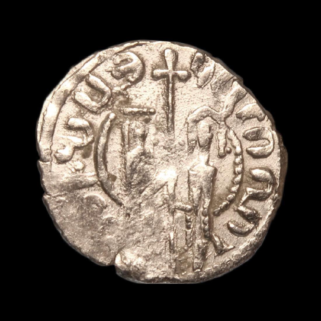Medieval Crusaders Armenian Silver Tram King Hetoum I