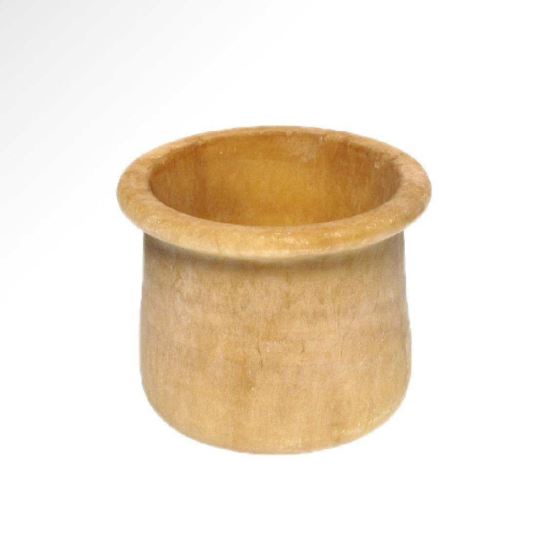 Bactrian Alabaster Bowl, c. 2000 B.C.