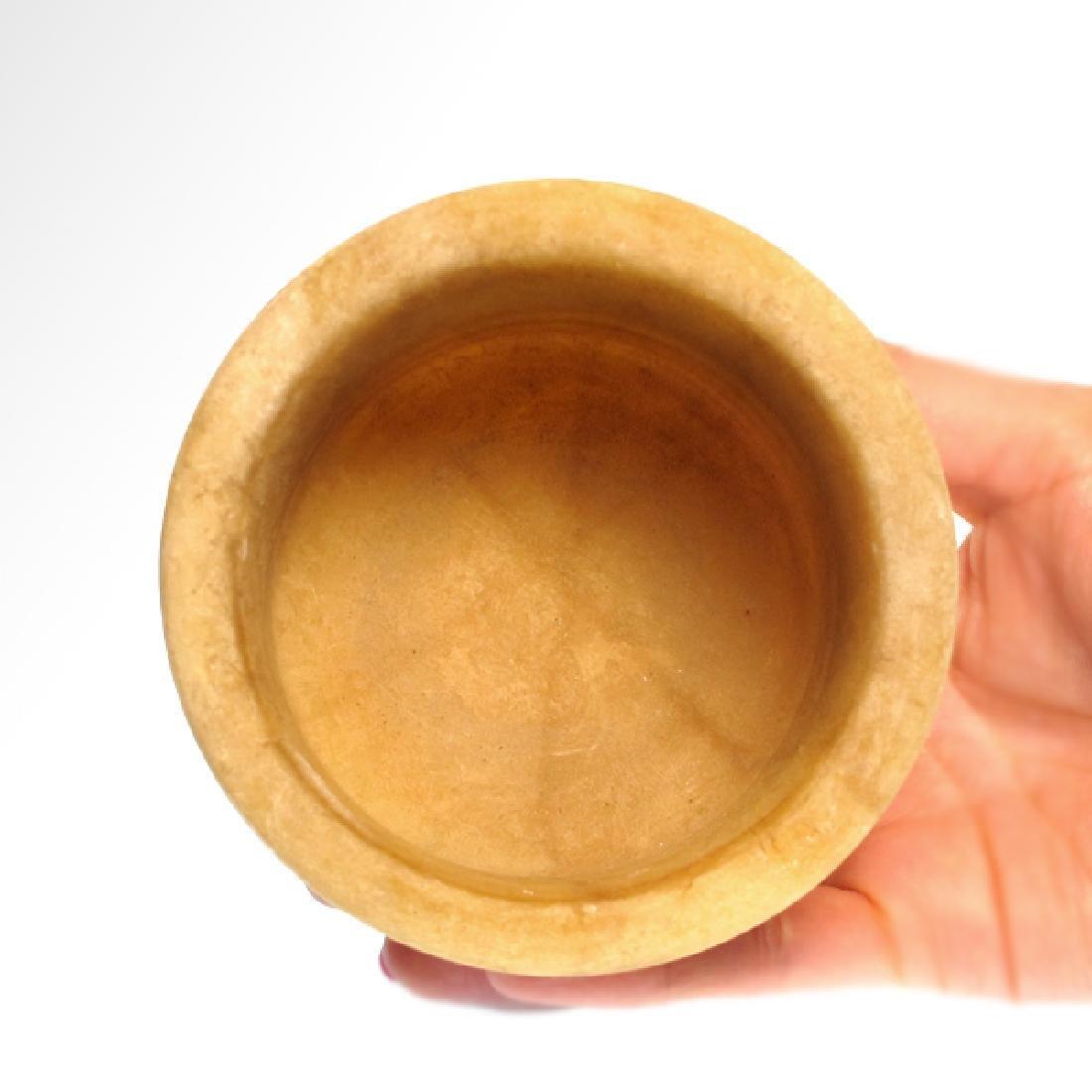 Bactrian Alabaster Bowl, c. 2000 B.C. - 4