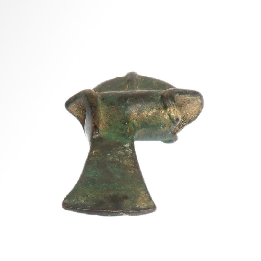 Luristan Bronze Axe, c. 9th Century B.C. - 4