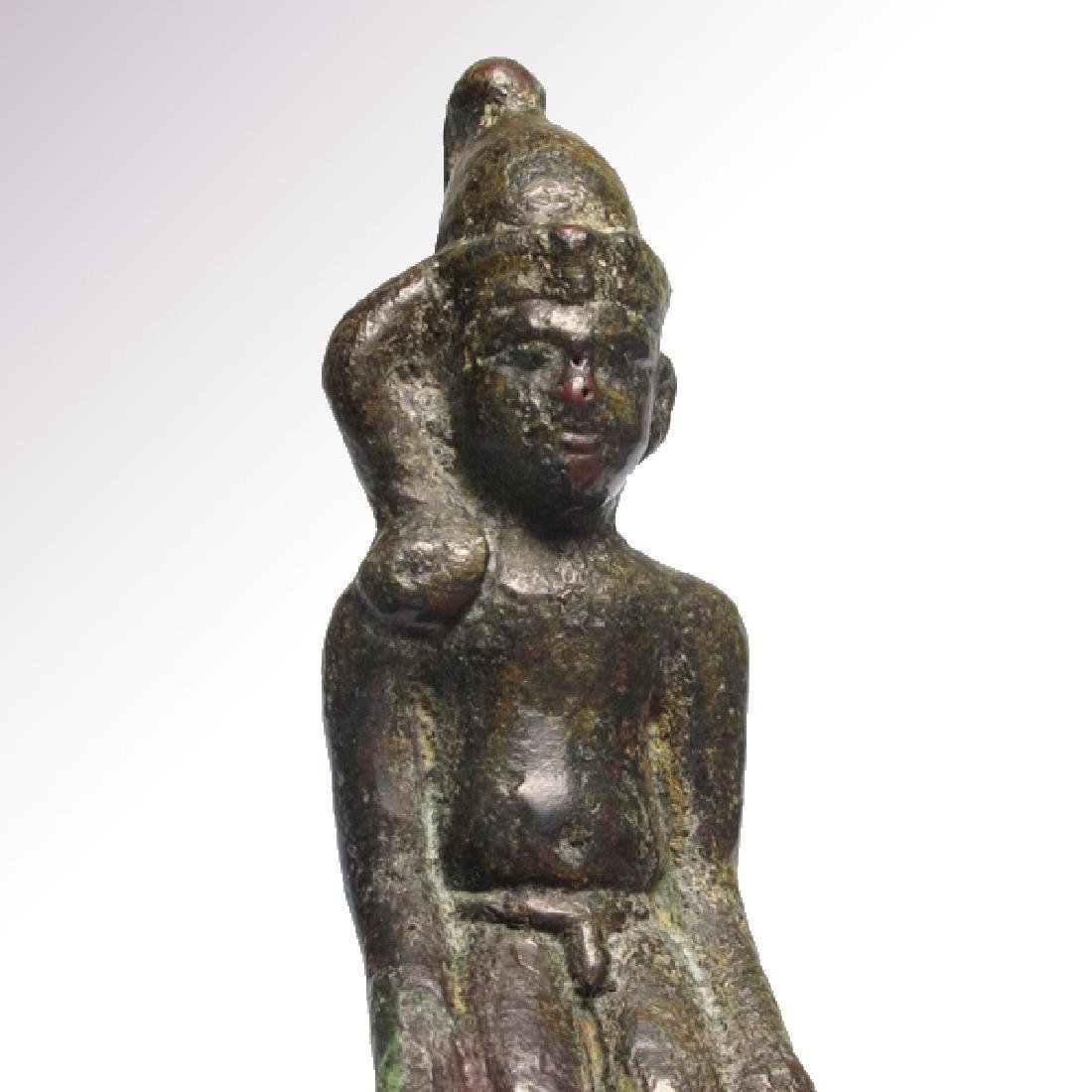 Egyptian Bronze Figure of Harpocrates Ptolemaic Period - 2