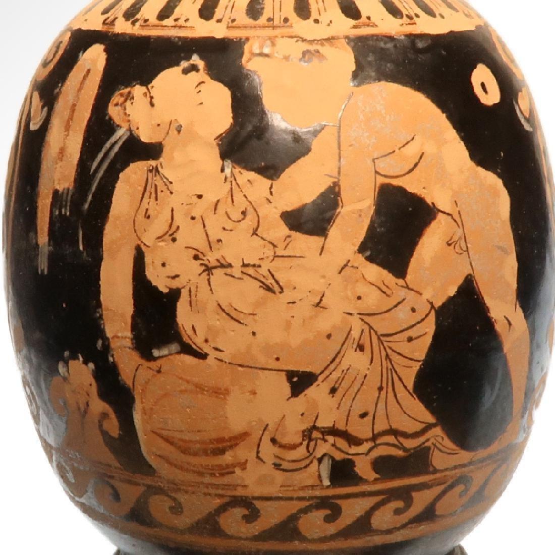 Greek Apulian Red Figures Lekythos, c. 350 - 300 B.C. - 2