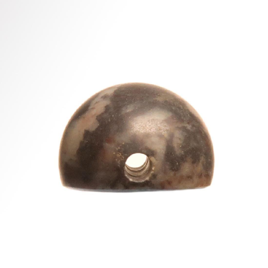 Sassanian Agate Seal, Zebu Bull, c. 200-250 A.D. - 3