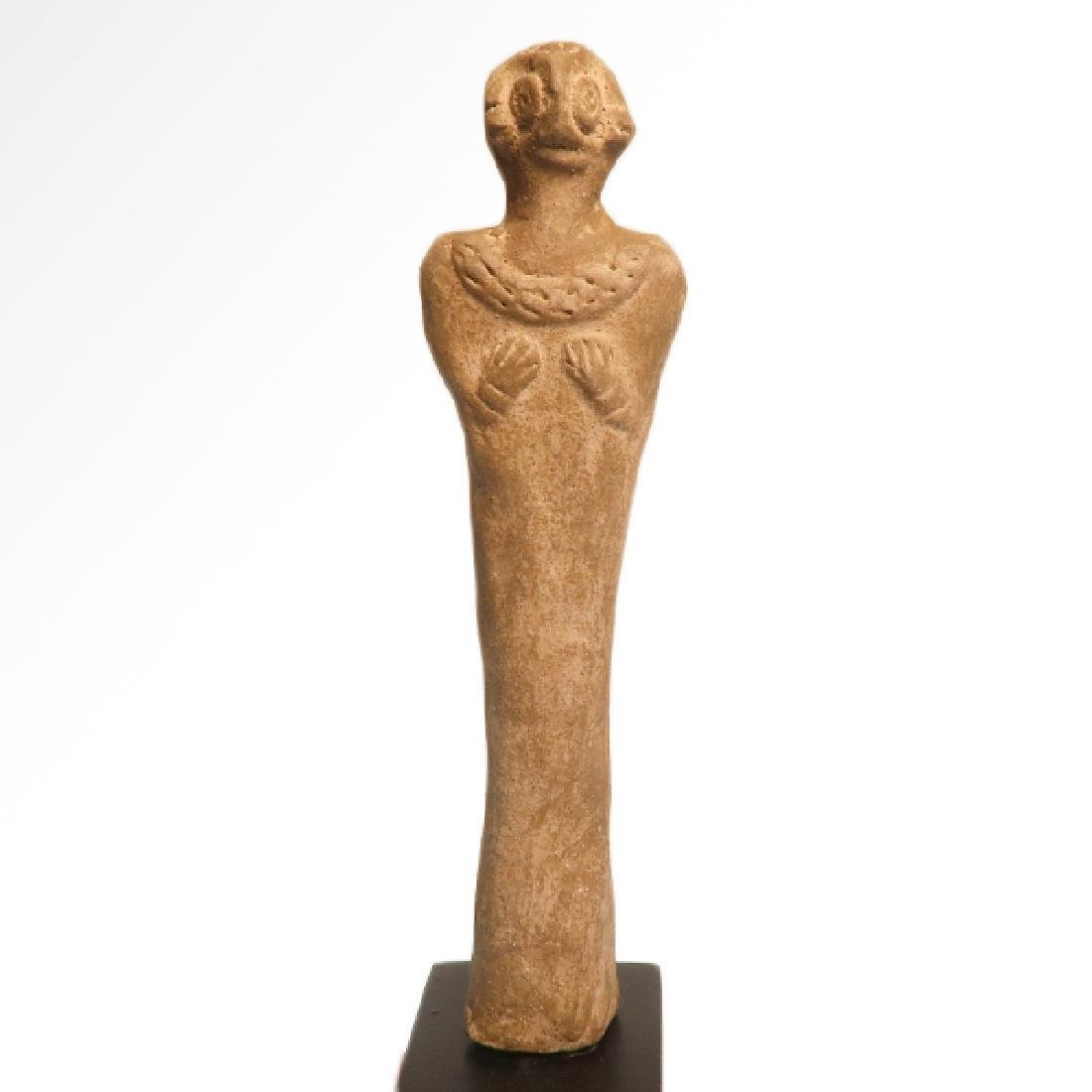 Syro-Hittite Terracotta Mother Goddess, c. 1700 B.C.