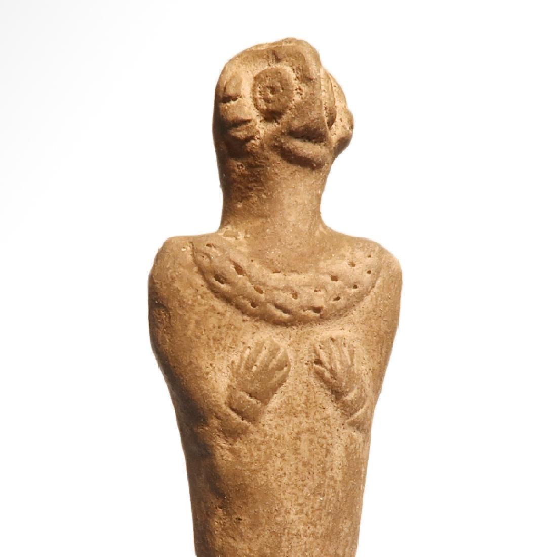 Syro-Hittite Terracotta Mother Goddess, c. 1700 B.C. - 3