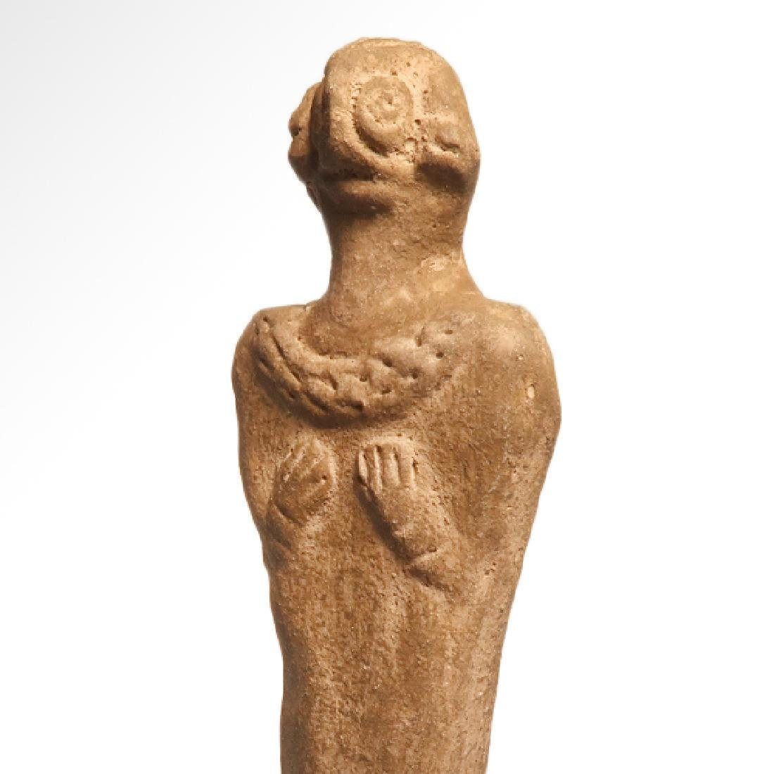 Syro-Hittite Terracotta Mother Goddess, c. 1700 B.C. - 4