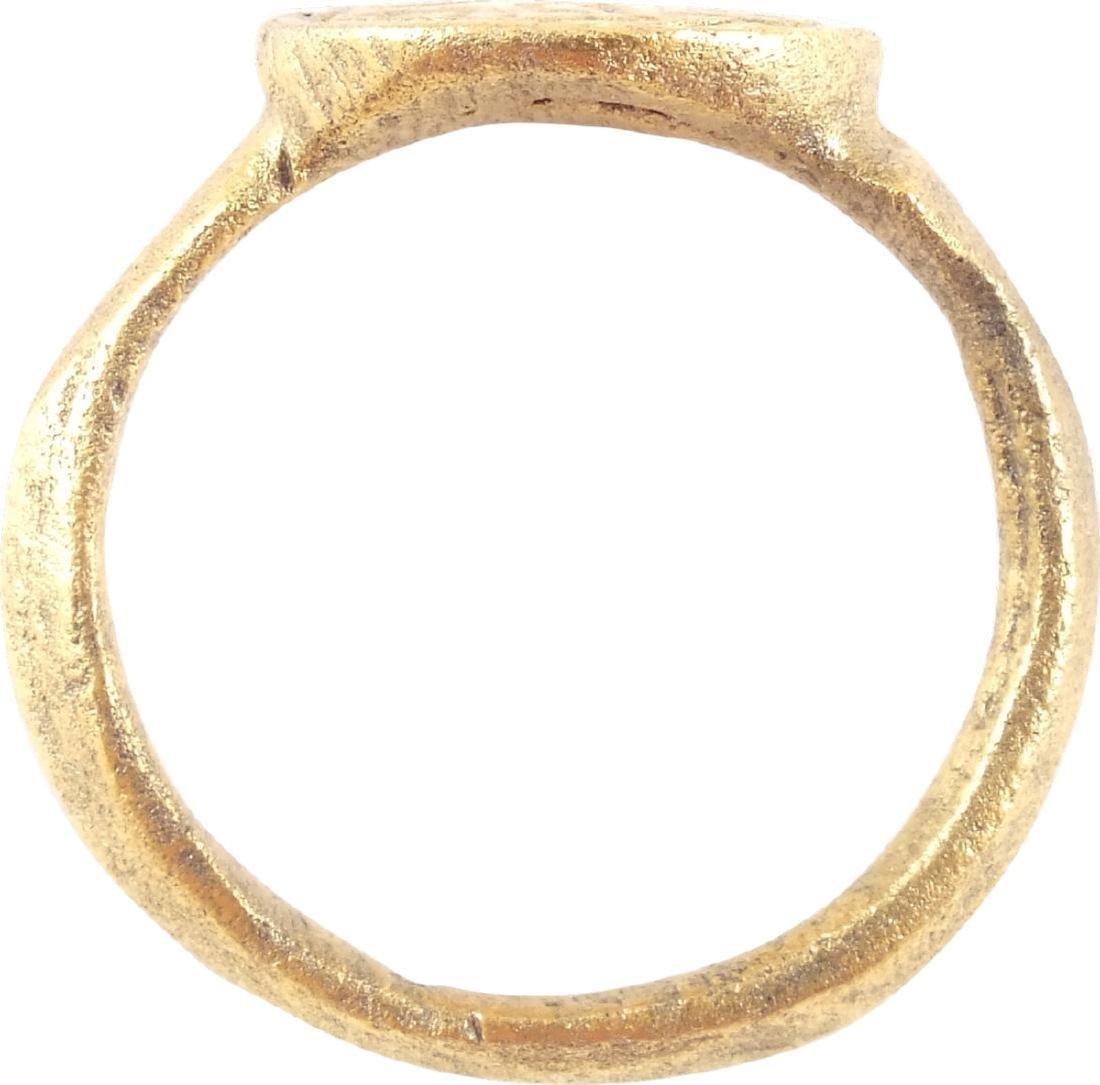European Crusader's Ring, 12th-13th Centuries - 2