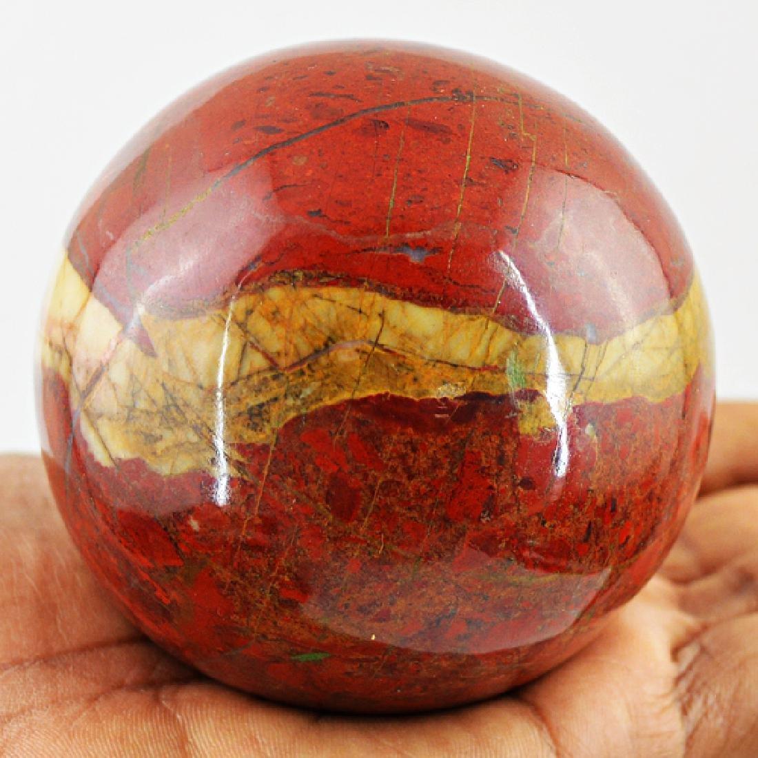 Red Mookaite Healing Ball