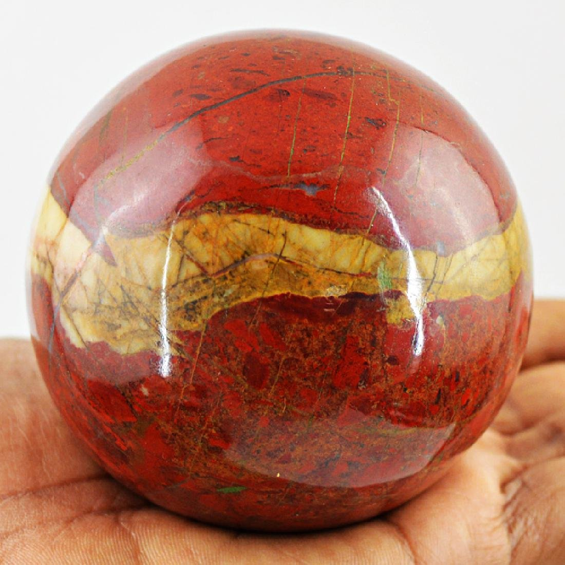 Red Mookaite Healing Ball