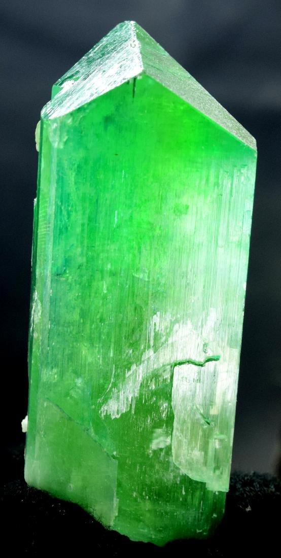 115 Gram v shape terminated and undamaged lush green