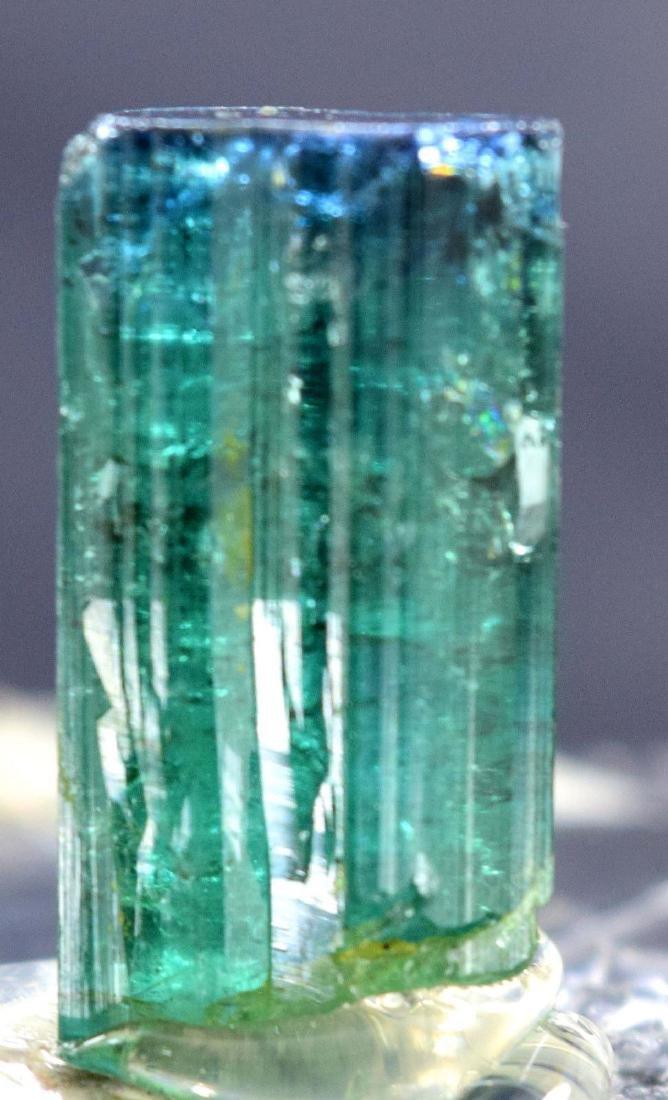 31.30 carats terminated and undamaged indicolite cap - 2