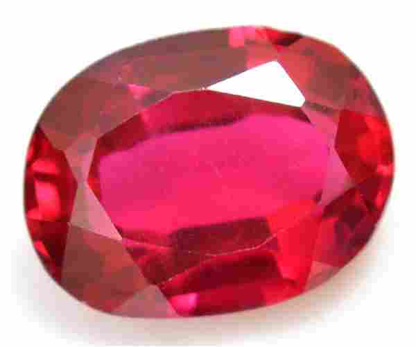 8.65 Ct Natural Red RUBY AGSL Certified