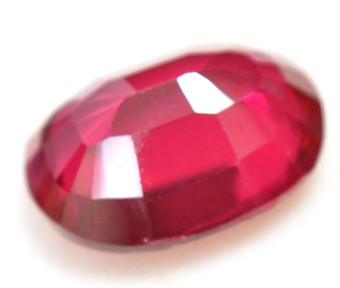 8.65 Ct Natural Red RUBY  AGSL Certified - 4
