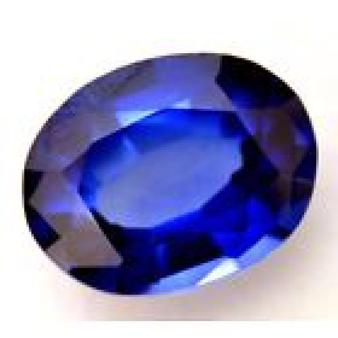 6.05 Ct Natural Blue Sapphire AGSL Certified