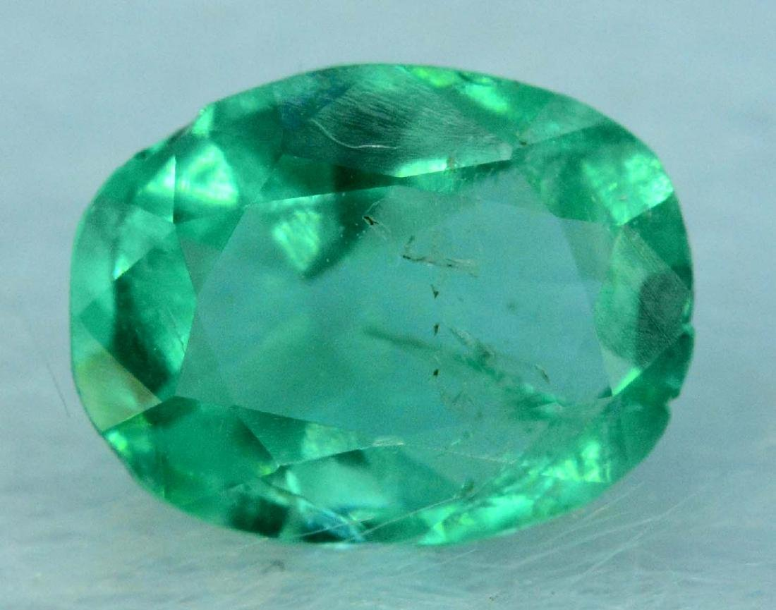 0.50 cts emerald loose gemstone