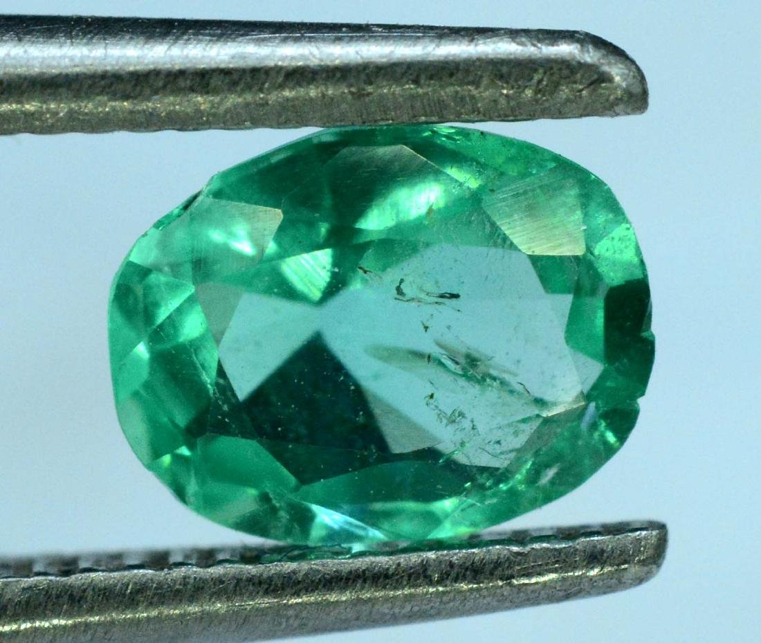 0.50 cts emerald loose gemstone - 3