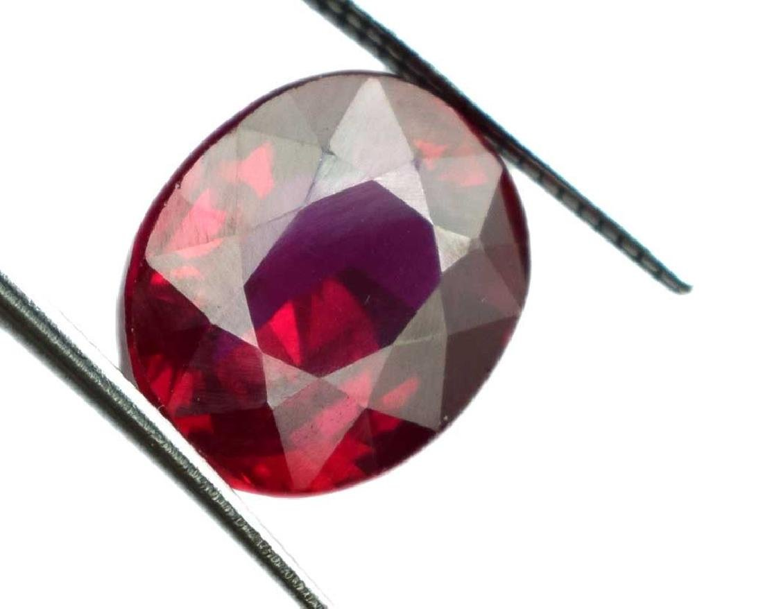 6.70 Ct Natural Red Spinel IGL Certified - 3