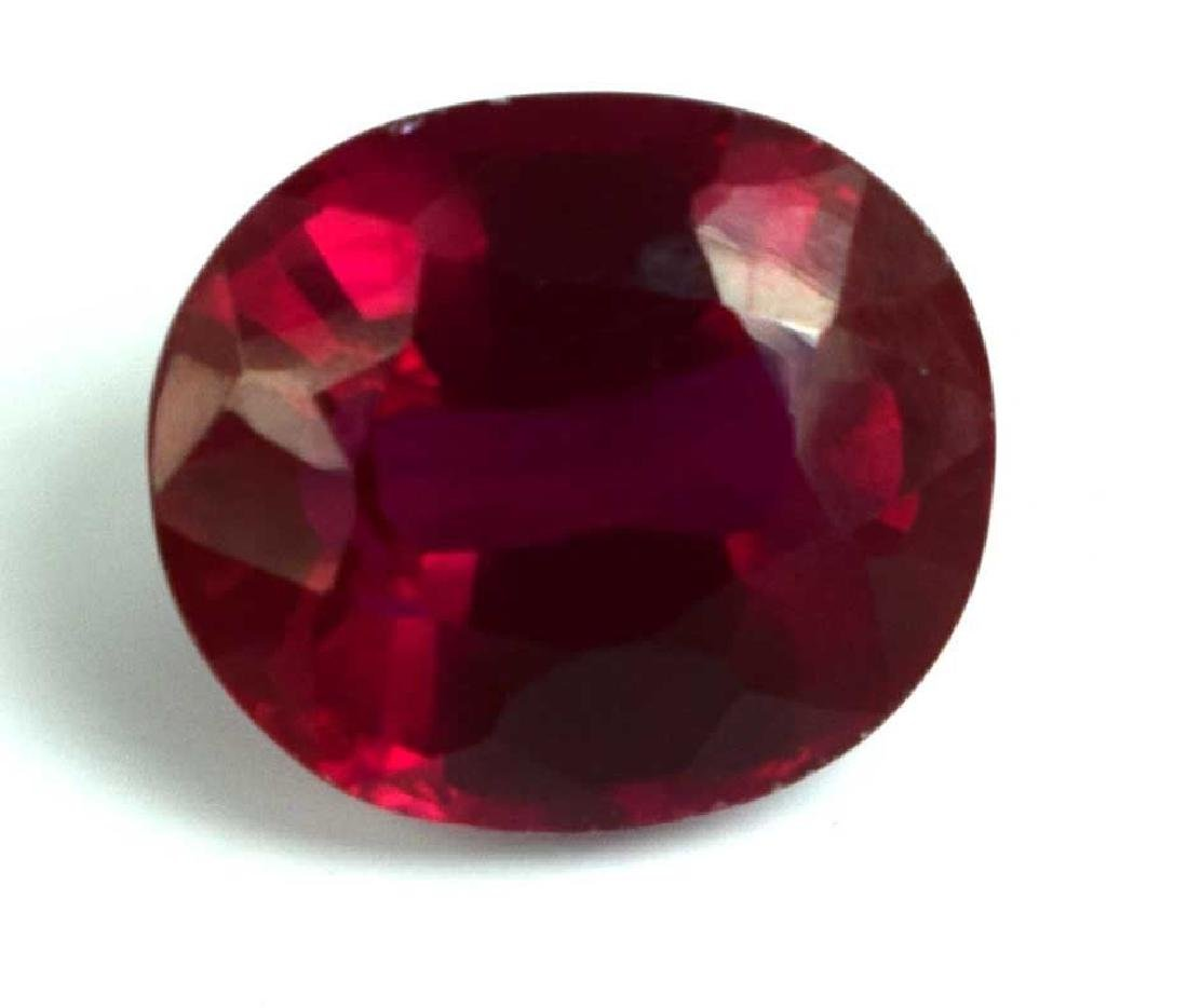 7.80 Ct Natural Red Spinel IGL Certified - 2