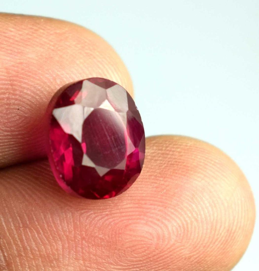 7.80 Ct Natural Red Spinel IGL Certified - 3