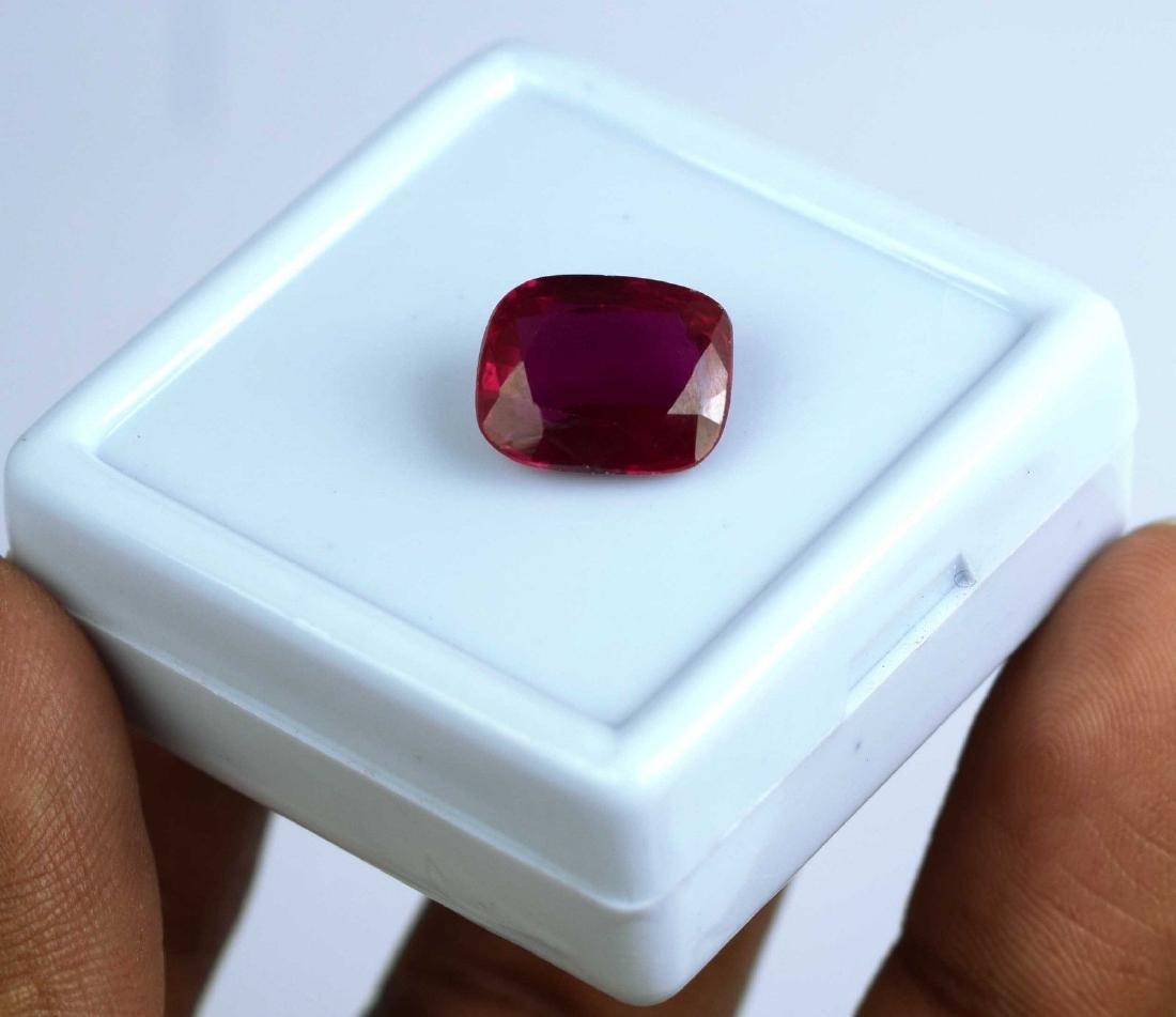 Natural 8.45 Ct IGL Certified Pink Sapphire - 2